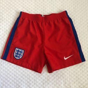 Nike England Football Shorts—6-7 Yrs